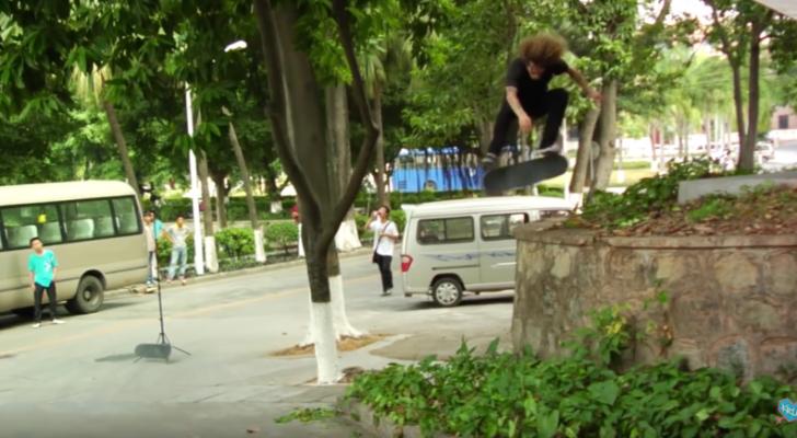 Tommy Sandoval Actual Skateboarding