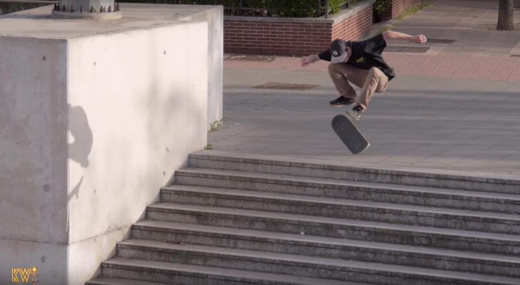 KWorks nos trae el interesante clip #SkateLife Leftovers