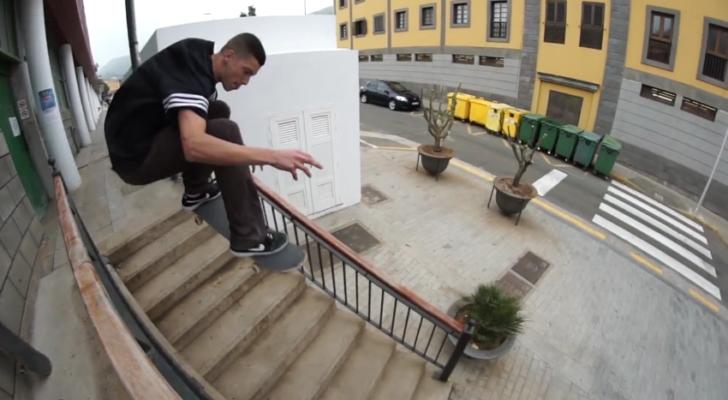 Poleitus. Nuevo clip con skateboarding canario