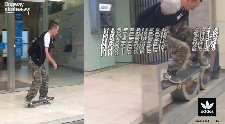Nacho Montells. Masterweek 2018 x adidas