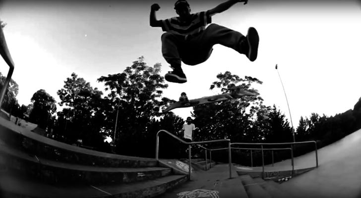 El clip Sona 2 nos muestra lo que pasa en la skateplaza de Tetuán