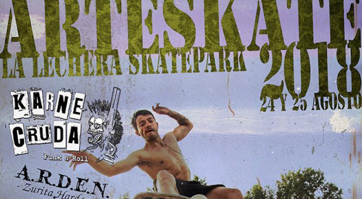 Arteskate 2018. Toda la información