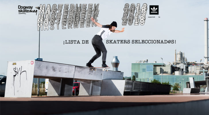 Seleccionad@s Masterweek 2018 Supported by adidas Skateboarding