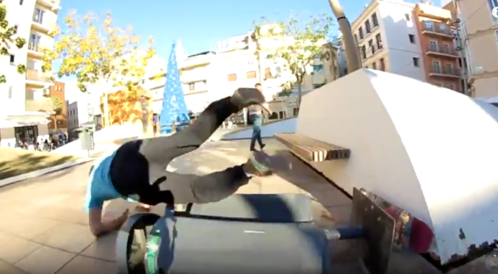 El clip Ka0s #5 nos trae Street Skateboarding desde Málaga