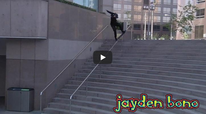 Parte de Jayden Bono en el «i AM blind» de Blind Skateboards