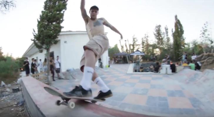 Clip del 10º aniversario de Skatefilms en La Casita DIY,