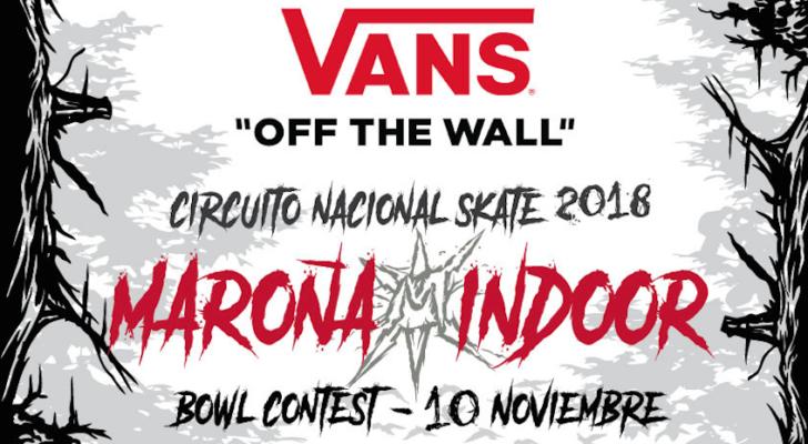 Toda la info sobre el Maroña Indoor Bowl Contest 2018