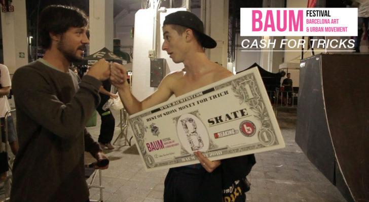 Lo mejor del Cash For Tricks del Baum Festival (Barcelona)
