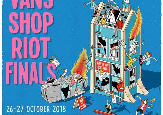 La final europea del Vans Shop Riot será en Milán