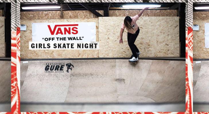 Clip y fotos con lo mejor de la Vans Girls Skate Night Bilbao