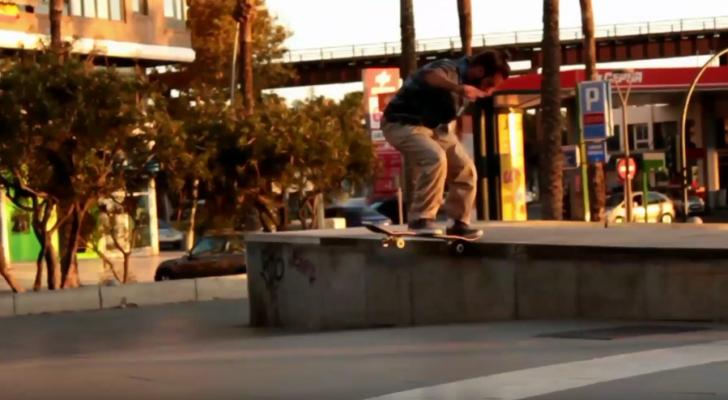 El clip «Skate Almería 2018 V2» nos muestra lo que se cuece por allí