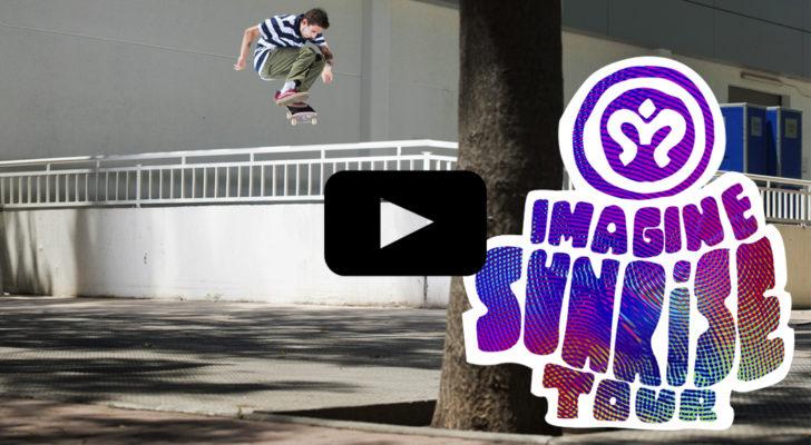 Vídeo del Sunrise Tour de Imagine Skateboards