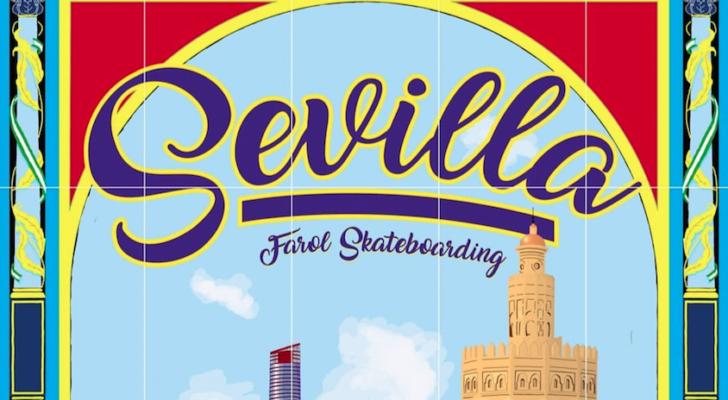 Los de Farol Skateboarding están ripando Sevilla ahora mismo