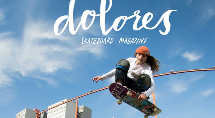 Presentación de Dolores, la nueva revista sobre patín femenino