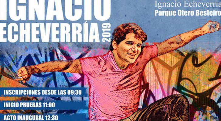 Homenaje a Ignacio Echeverría en Madrid