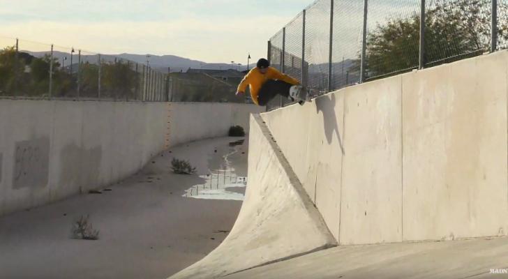 Altos vuelos en el nuevo clip de Madness Skateboards