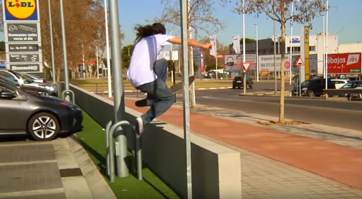 Los franceses toman Valencia… y se la patinan