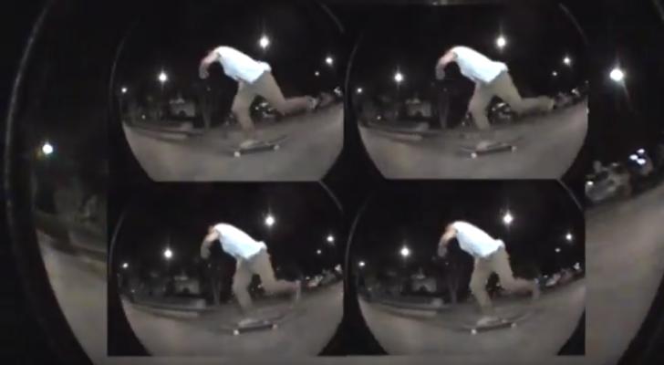 Patín sevillano en el clip Fire Island Skate Program 001