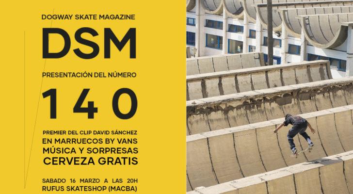 Premier clip David Sánchez y presentación Dogway 140 en Barcelona