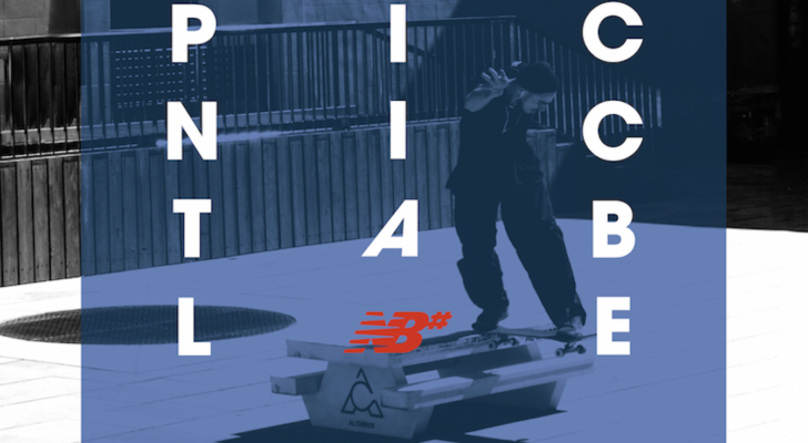 Picnic table shoes for tricks con Al Carrer y New Balance Numeric