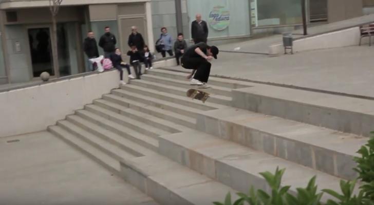 Pro clip de Javier Suárez x Imagine Skateboards