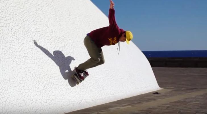 Los ganadores del Furgoneta y patineta ripando Canarias