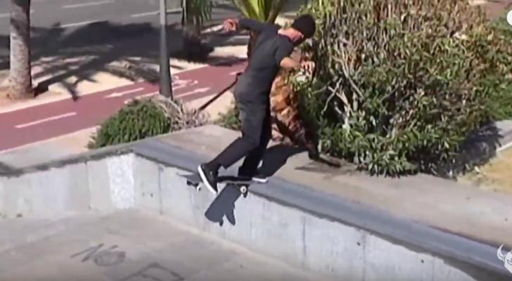 Manolo Robles cierra el nuevo vídeo de Darkstar Skateboards