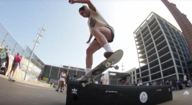 Clip Asiplanchaba del GSD 2019 x adidas Skateboarding en BCN
