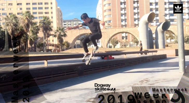 Nahuel Cesar  Schule. Masterweek 2019 x adidas Skateboarding