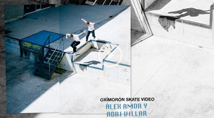 Parte de Adri Villar y Álex Amor en Oxímoron (y más)