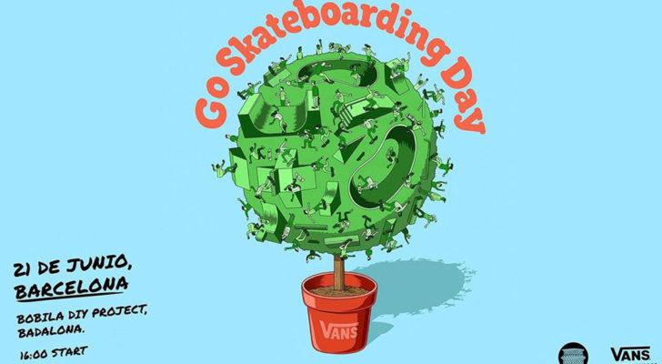 Toda la info sobre el Go Skateboarding Day x Vans en BCN