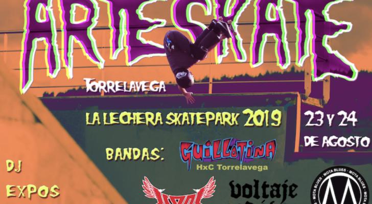 Todo sobre el Arteskate 2019 (Torrelavega)