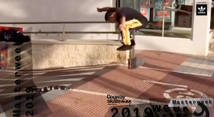 Ángel López. Masterweek 2019 x adidas Skateboarding
