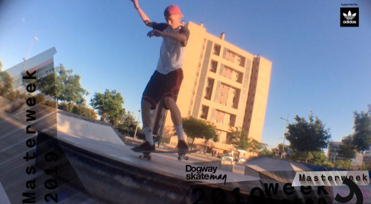 Eloy Valero. Masterweek 2019 x adidas Skateboarding