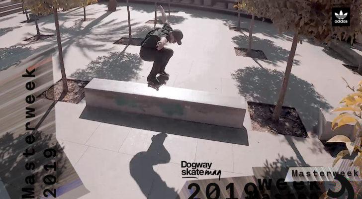 Jordan Alguacil.  Masterweek 2019 x adidas Skateboarding