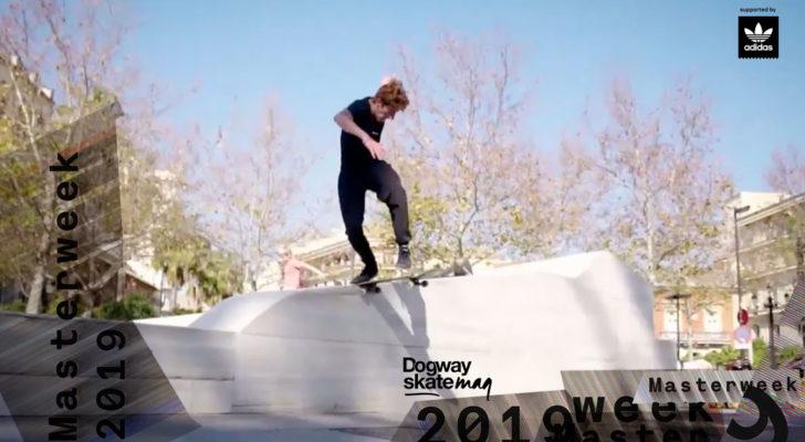 Julio José Fernández. Masterweek 2019 x adidas Skateboarding