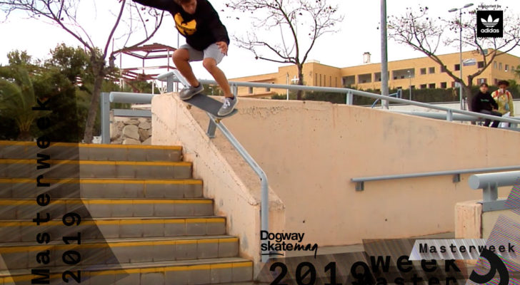 Lucas Cebreiros. Masterweek 2019 x adidas Skateboarding