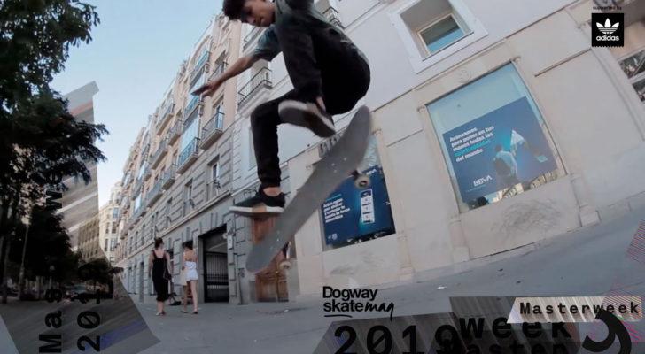Daniel Hervas. Masterweek 2019 x adidas Skateboarding