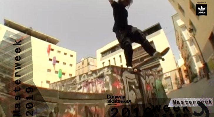 Edgar Girón. Masterweek 2019 x adidas Skateboarding