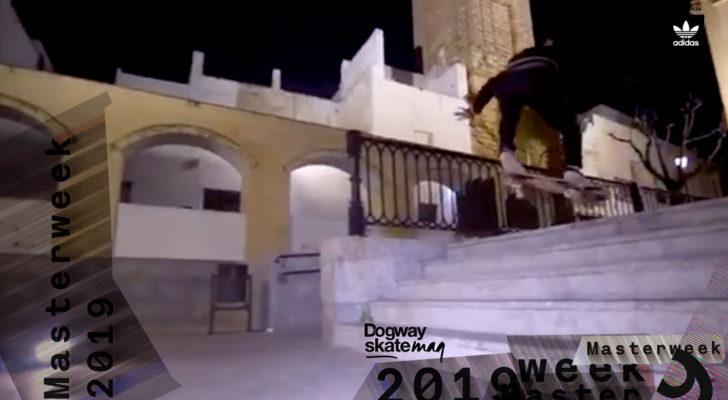 Guillermo Vázquez. Masterweek 2019 x adidas Skateboarding