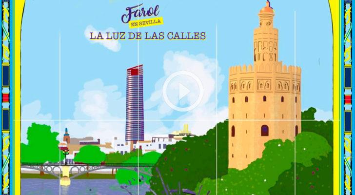 Estreno de «La luz de las calles», el clip del tour Farol a Sevilla