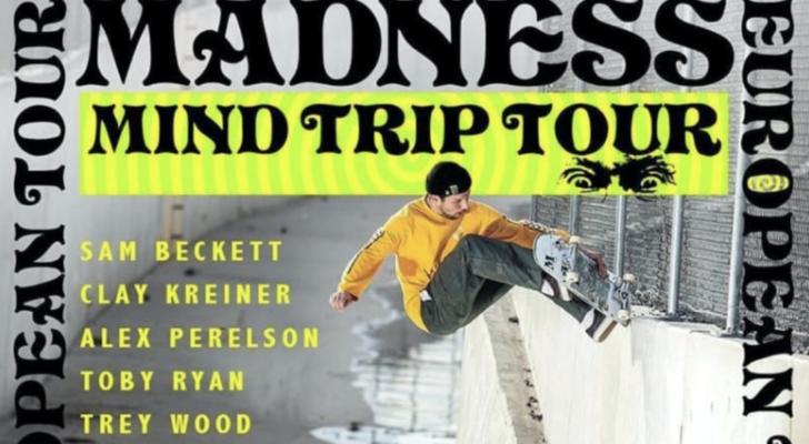 Todo sobre el paso por España del team Madness Skateboards