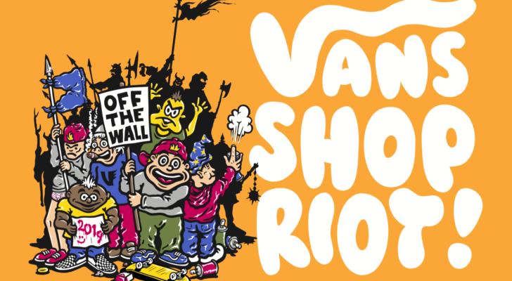 Vans Shop Riot 2019. La info y el concurso que te puede llevar gratis
