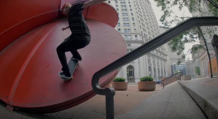 Volcom ripa Nueva York en el vídeo Where Are We Going?!