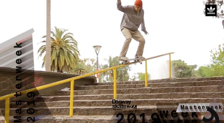 Adriel Parmisano. Masterweek 2019 x adidas Skateboarding