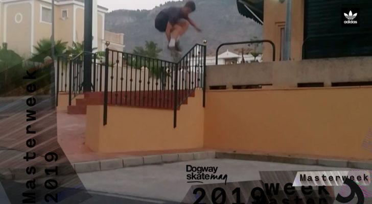 Antonio Pérez. Masterweek 2019 x adidas Skateboarding