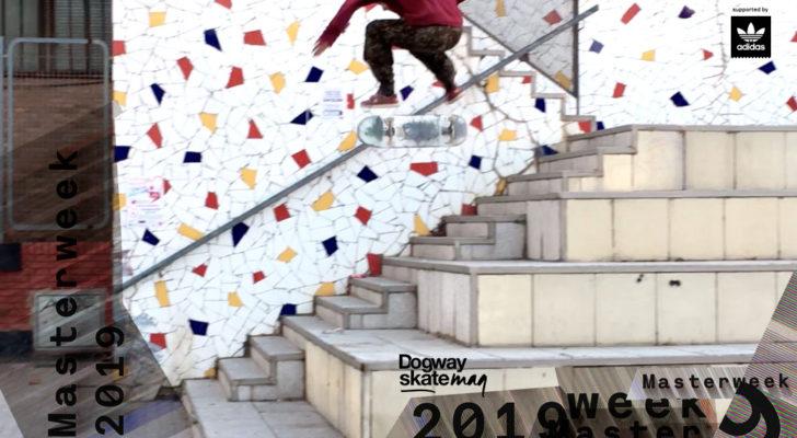 Javier Carmona. Masterweek 2019 x adidas Skateboarding