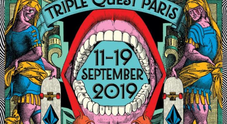 Un best trick contest vía Instagram. Eso es el Volcom Triple Quest Paris