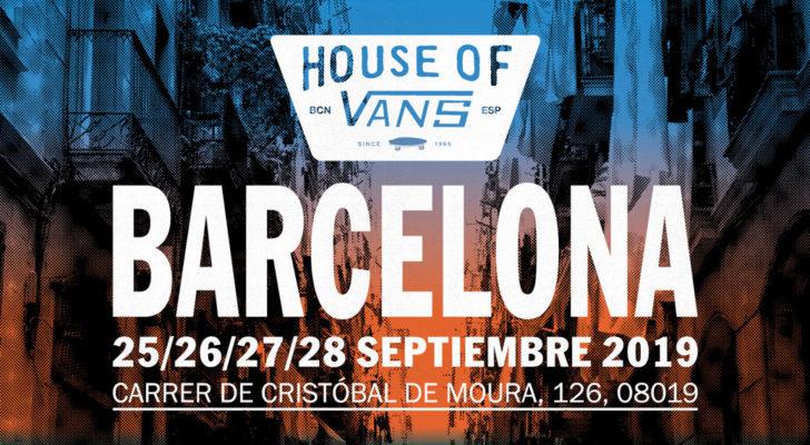 Todo sobre el House Of Vans Barcelona