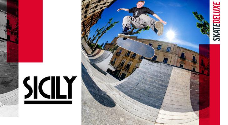 Clip del paso de Skatedeluxe por Sicilia